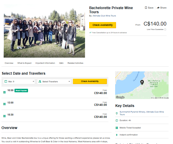 Bachelorette Private Wine Tour-TripAdvisor Special Prices