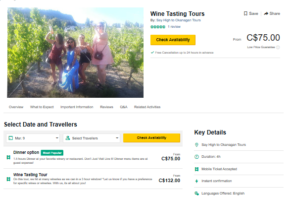 Wine Tasting Tour-TripAdvisor Special Prices